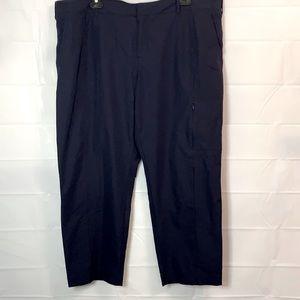 Kirkland ladies travel pants dark blue size 16